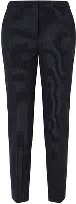 Piazza Sempione Laura Straight-Leg Stripe Trousers