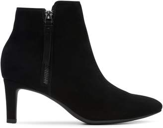 Clarks Calla Blossom Leather Booties