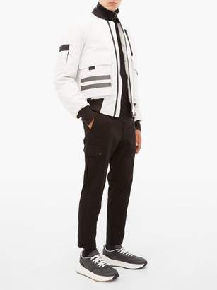 Canada Goose Kirkfield Down Filled Bomber Jacket - Mens - White