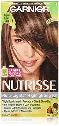 Garnier Nutrisse Nourishing Color Creme, H3 Warm Bronze (Packaging May Vary) $8.22 thestylecure.com