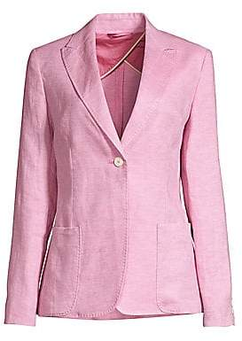 Max Mara Women's Omero Flaxlinen Jacket