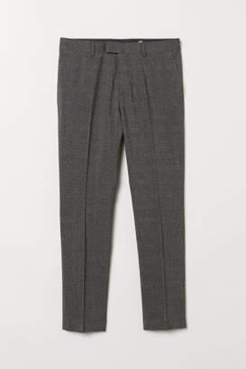 H&M Suit Pants Skinny fit - Gray