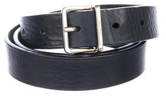 Paul Smith Leather Skinny Belt