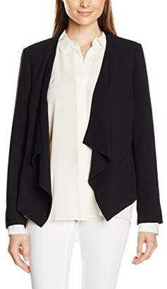 Jacques Vert Women's Crepe Drape Front Jacket