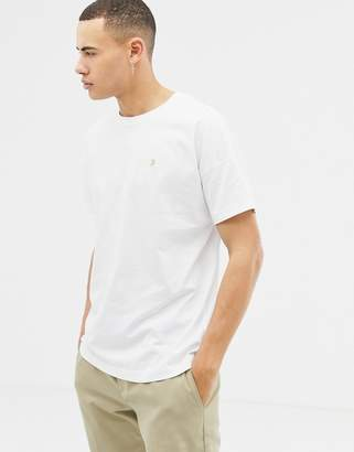 Farah Frankie oversized t-shirt in white