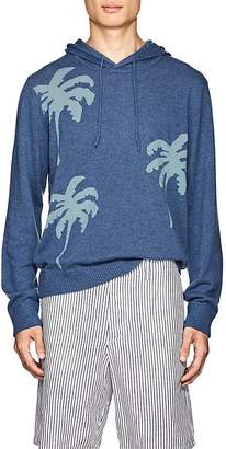 Onia Men's Palm-Tree Cashmere Hoodie