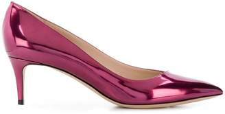 Giorgio Armani mirrored pumps