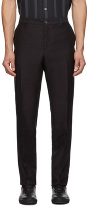Paul Smith Navy Mid-Fit Trousers