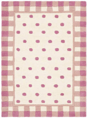 Safavieh Novelty Hand-Woven Wool Ivory/Pink Area Rug Rug