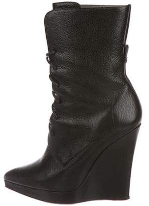 Reed Krakoff Leather Mid-Calf Boots