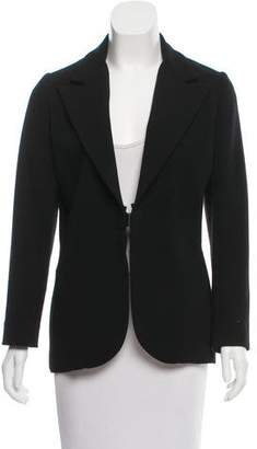Lanvin Peak-Lapel Tailored Blazer