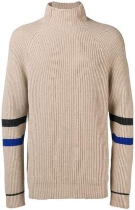 Zadig & Voltaire Zadig&Voltaire Noe stripe turtleneck sweater