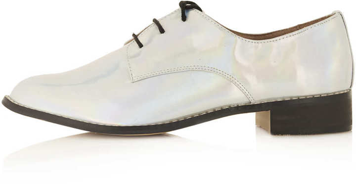 Milla Silver Lace Up Shoes
