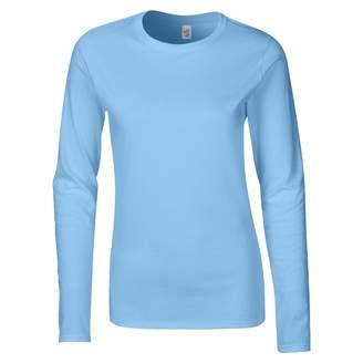 Gildan Ladies Soft Style Long Sleeve T-Shirt (XXL)
