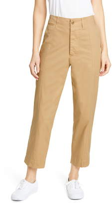 Alex Mill Stretch Cotton Twill Ankle Pants