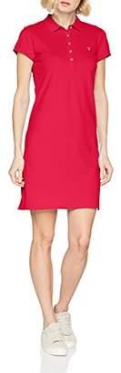 Gant Women's Original Piqué Dress (Hamptons Blue), 8 (Manufacturer Size: X-Small)