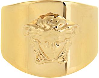 VERSACE Medusa ring $275 thestylecure.com
