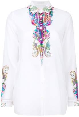 Etro paisley print sheer blouse