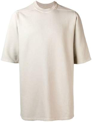 Rick Owens oversized short-sleeve T-shirt