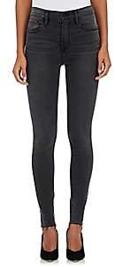 Frame Women's Ali High Rise Skinny Jeans-Gray
