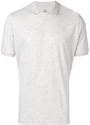 Eleventy buttonless polo shirt