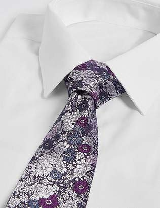 Marks and Spencer Floral Jacquard Tie