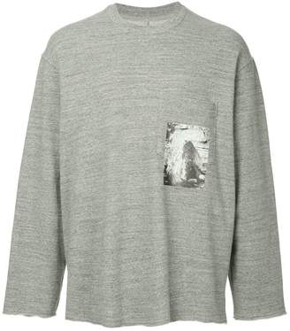 Song For The Mute long sleeved sweatshirt