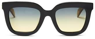 Rag & Bone Women's 1002 Oversized Square Sunglasses, 52mm