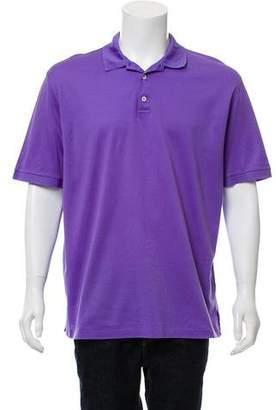 Ralph Lauren Purple Label Short Sleeve Button-Up Polo