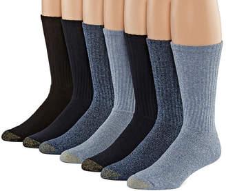 Gold Toe 6+1 Bouns Pair Crew Socks-Mens