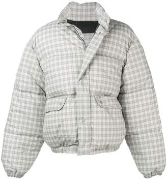 Our Legacy check puffer jacket