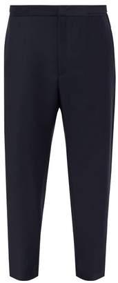 Jil Sander Spencer Straight Leg Trousers - Mens - Dark Blue
