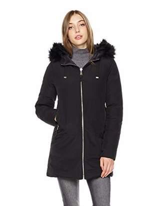65e002c184a Faux Fur Reversible Hooded Jacket - ShopStyle