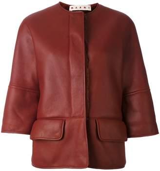 Marni shearling lined jacket