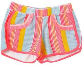 Billieblush Striped Cotton Terry Shorts