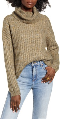 Only Chunky Cowl Neck Sweater