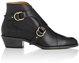 Chloé WOMEN'S LENNY LEATHER ANKLE BOOTS