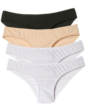 La Redoute Collections Pack of 4 Maternity Briefs