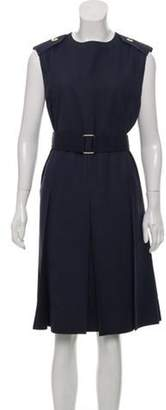 Marc Jacobs Sleeveless Shift Dress Navy Sleeveless Shift Dress