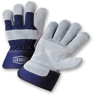 West Chester XLarge Ironcat Premium Leather Double Palm with Knuckle Strap Safety Cuff Dozen