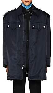 Calvin Klein Men's Tech-Twill Oversized Jacket-Navy Size 46 Eu
