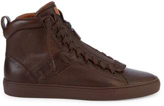 Bally Hekem Leather Sneaker Boots