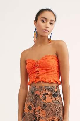 b36d9289de2 Orange Tube Top - ShopStyle