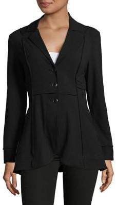 Nic+Zoe Petite Seamed Riding Jacket