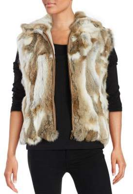 Surell Rabbit Fur Vest