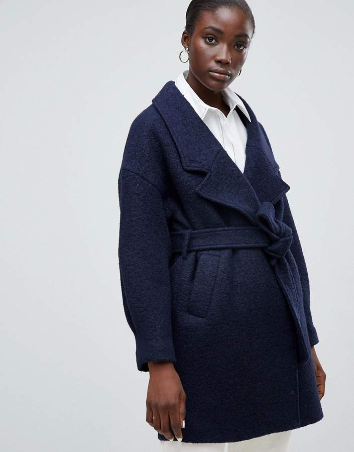 Wrap Wool Coat