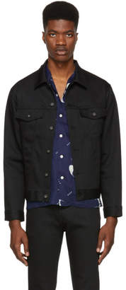 Naked & Famous Denim Denim Black Power Stretch Denim Jacket