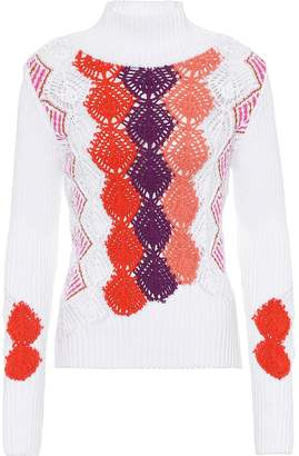 Peter Pilotto Cotton-blend sweater
