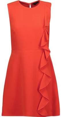Rachel Zoe Krause Ruffled Cady Mini Dress
