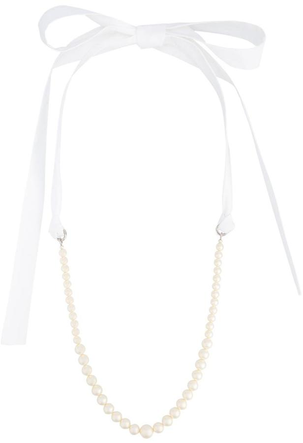 Miu Miu Miu Miu pearl necklace